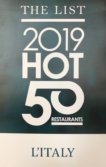 hot 50 restaurants